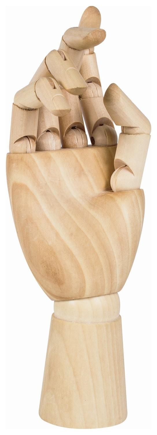 """Манекен художественный Brauberg ART """"Classic"""",""""рука"""", высота 25 см, женская правая, дерево, 191299  Brauberg"""