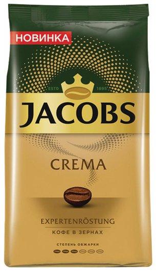 """Кофе в зернах Jacobs """"Crema"""", 1000 г, вакуумная упаковка, 8051592  Jacobs"""