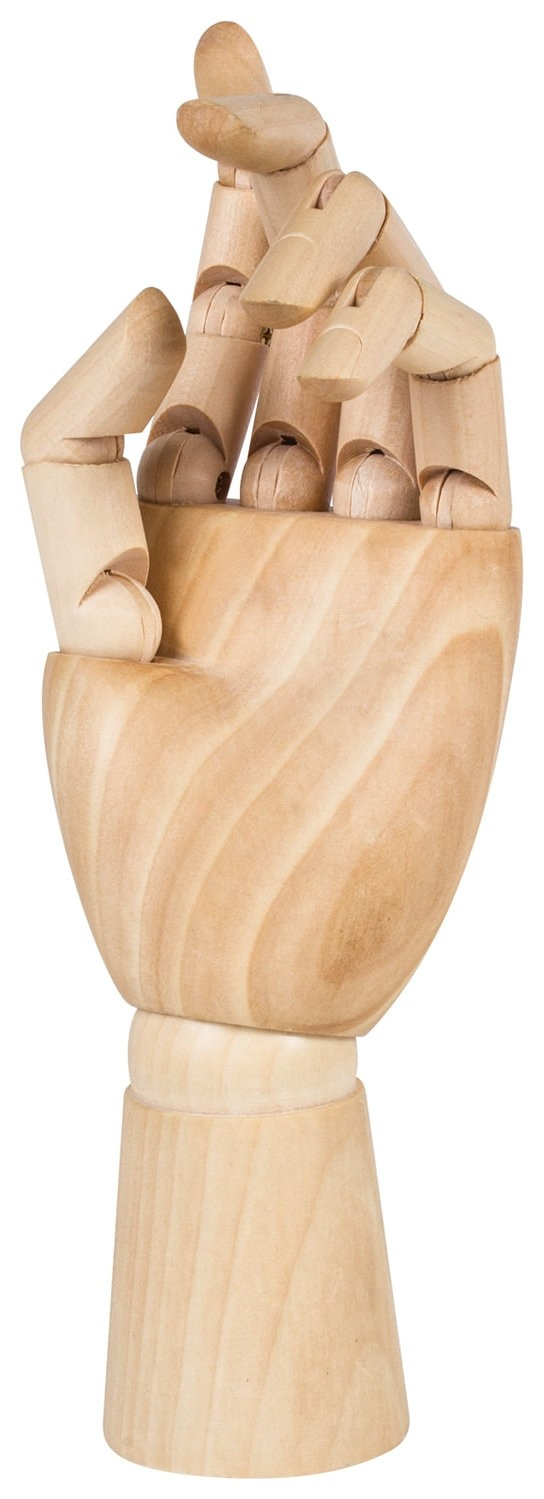 """Манекен художественный Brauberg ART """"Classic"""",""""рука"""", высота 25 см, женская левая, дерево, 191298  Brauberg"""