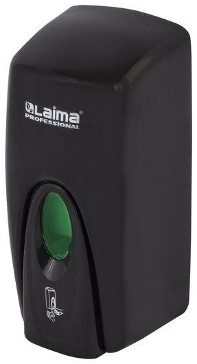 Диспенсер для жидкого мыла Laima Professional Original, наливной, 1 л, черный, Abs-пластик, 605783  Лайма
