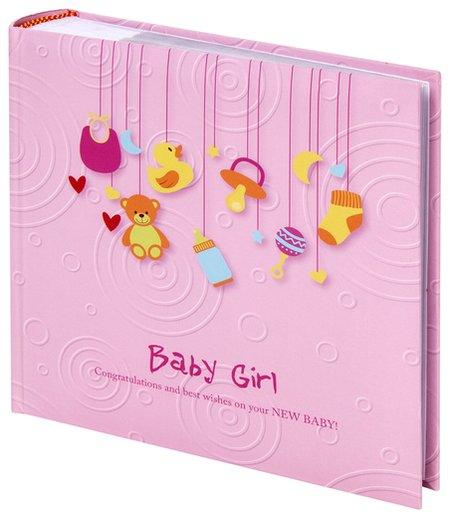 Фотоальбом на 200 фото Baby Girl  Brauberg