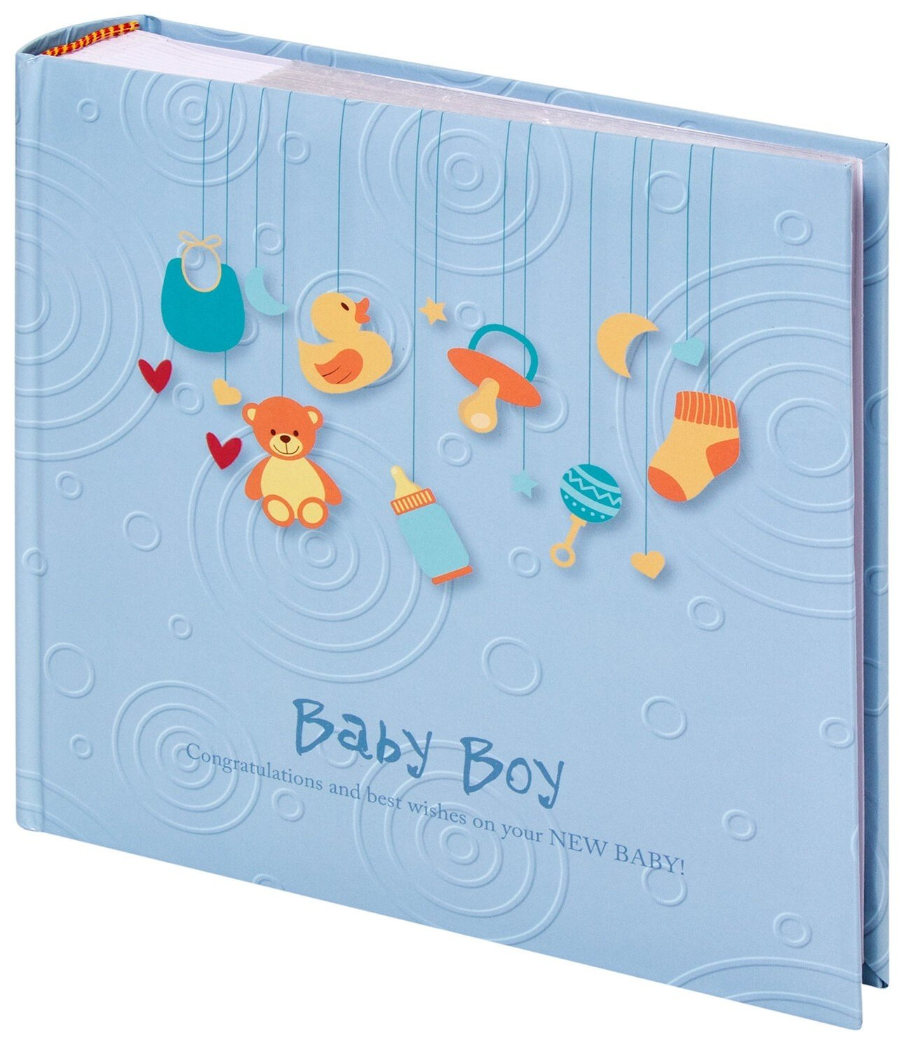 Фотоальбом на 200 фото Baby Boy  Brauberg