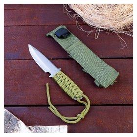 Нож в оплётке, лезвие 17,5 см