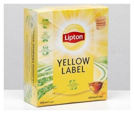 Чай чёрный Lipton, 100 пак. х 2 г  Lipton