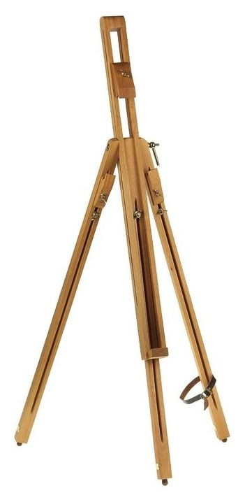 Мольберт «Тренога», 170 см, с держателями для холста на ножках, бук  Calligrata