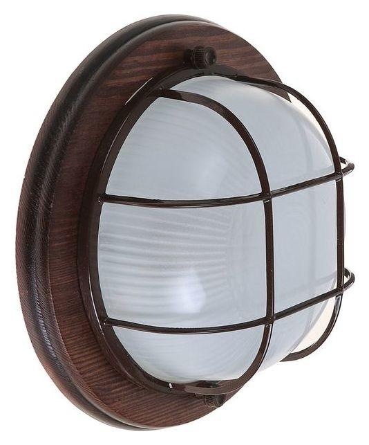 Светильник для бани/сауны Italmac Termo 60 01 16, 60 Вт, Ip54, цвет венге, до +130°c Italmac