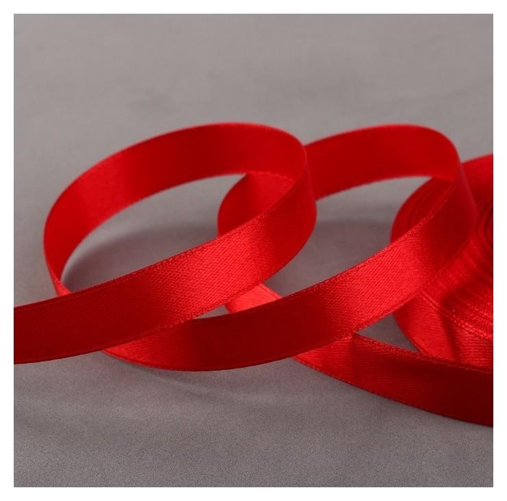 Лента атласная, 12 мм × 33 ± 2 м, цвет тёмно-красный №112 Gamma