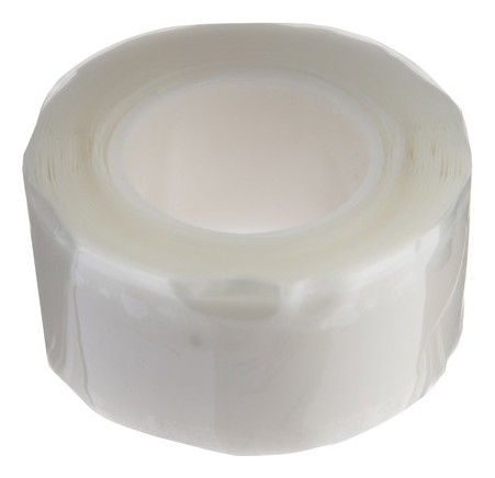 Ремонтная лента Junco Tape, 25 х 0.5 мм, 3 м, силиконовая, белая, 6 бар Juncotape