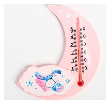 Термометр универсальный детский, цвет розовый, рисунок Крошка я