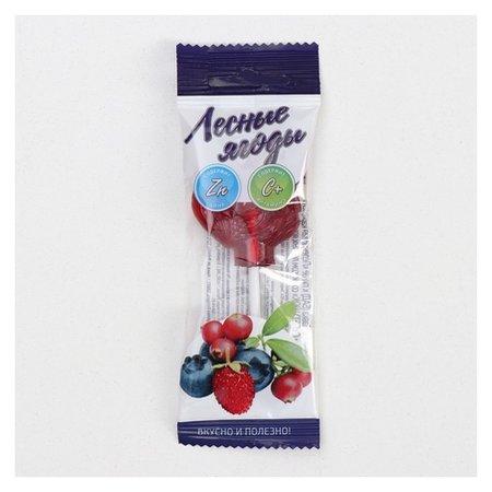 Леденец «Петушок» с витамином С со вкусом лесных ягод, 17 г  Гуслица