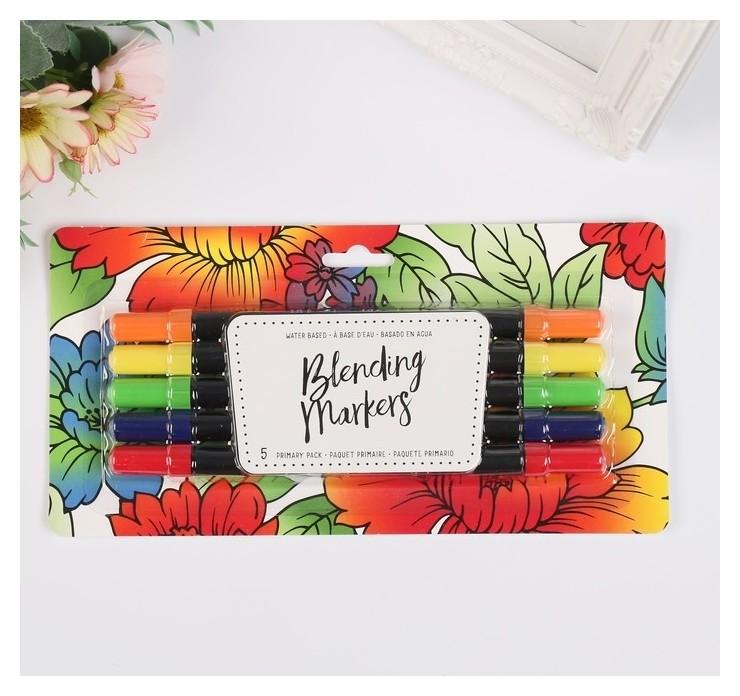 Набор маркеров на водной основе American Crafts «Primary» 5 шт American crafts