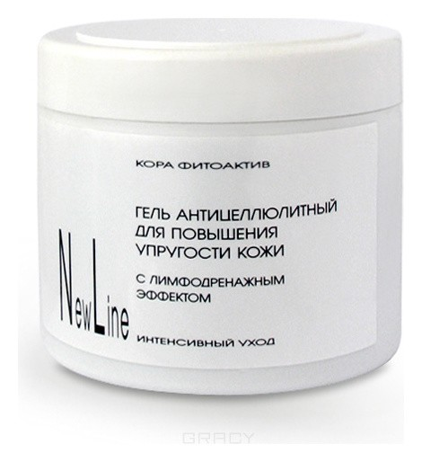 Гель антицеллюлитный с лимфодренажным эффектом  New Line