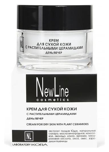 Крем для сухой кожи с церамидами  New Line