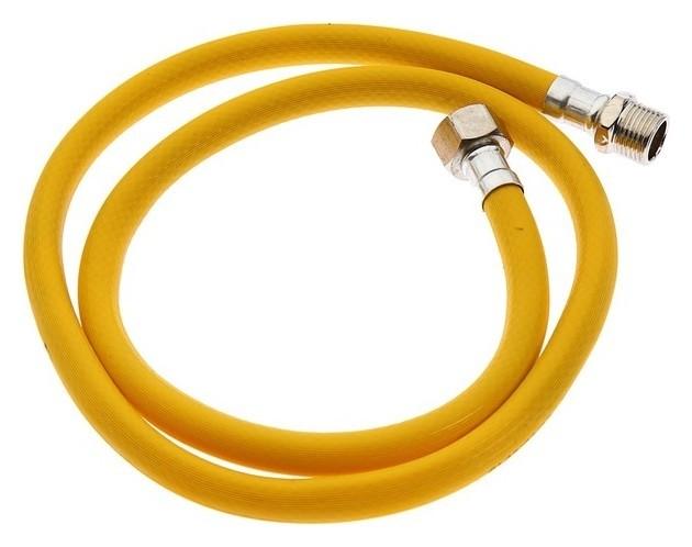 Подводка для газа Стм, пвх, внутренняя/наружная резьба 1/2, 120 см КНР