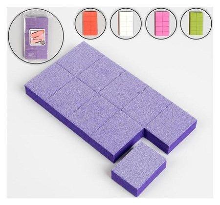 Наждачные бафы для ногтей, двусторонние, 10 шт, 3,5 × 2,5 × 1 см