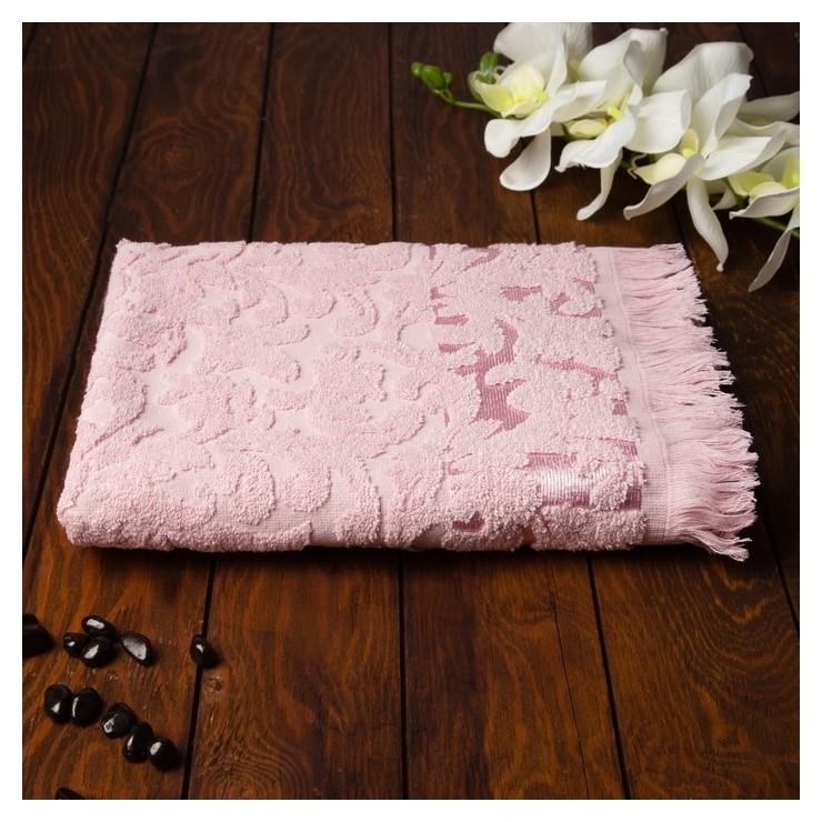 Полотенце Fidan Orient 70х130 см, розовый, хлопок 100%, 420 гр/м2  Fidan