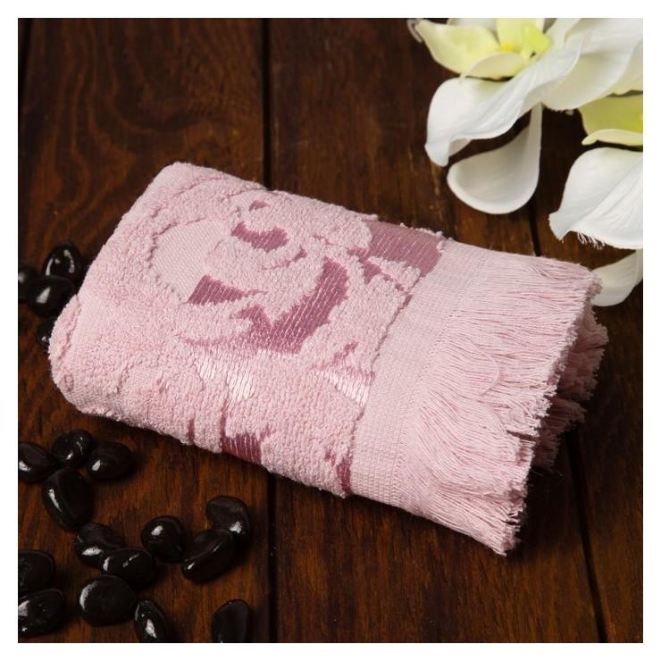 Полотенце Fidan Orient 30х50 см, розовый, хлопок 100%, 420 гр/м2 Fidan