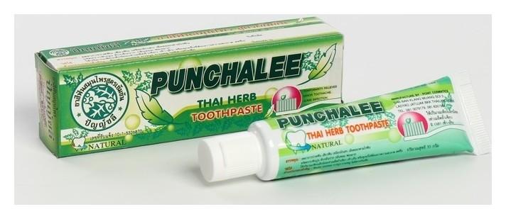 Органическая зубная паста панчале с тайскими травами Punchalee Herbal Toothpaste 35 гр Raysan