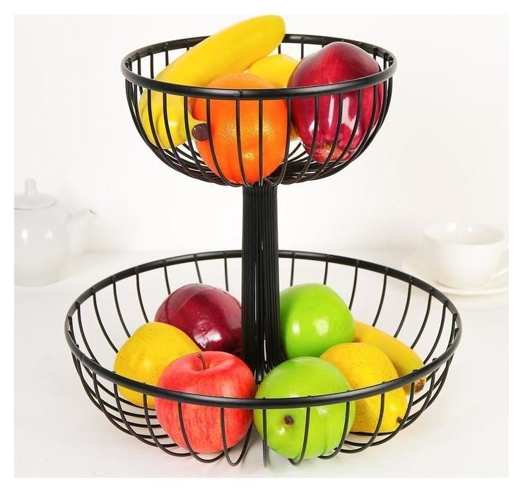 Ваза для фруктов «Эстетика»  Доляна