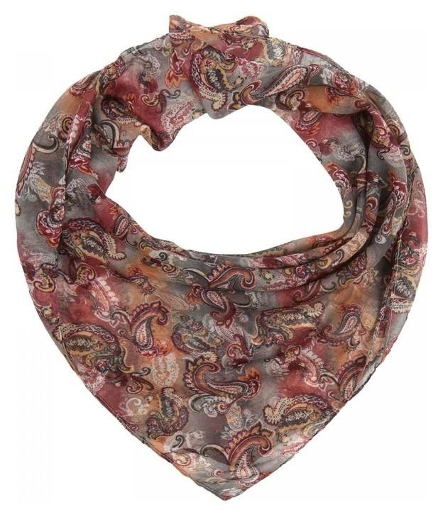 Платок женский текстильный, цвет разноцветный, размер 96х96  Rossini