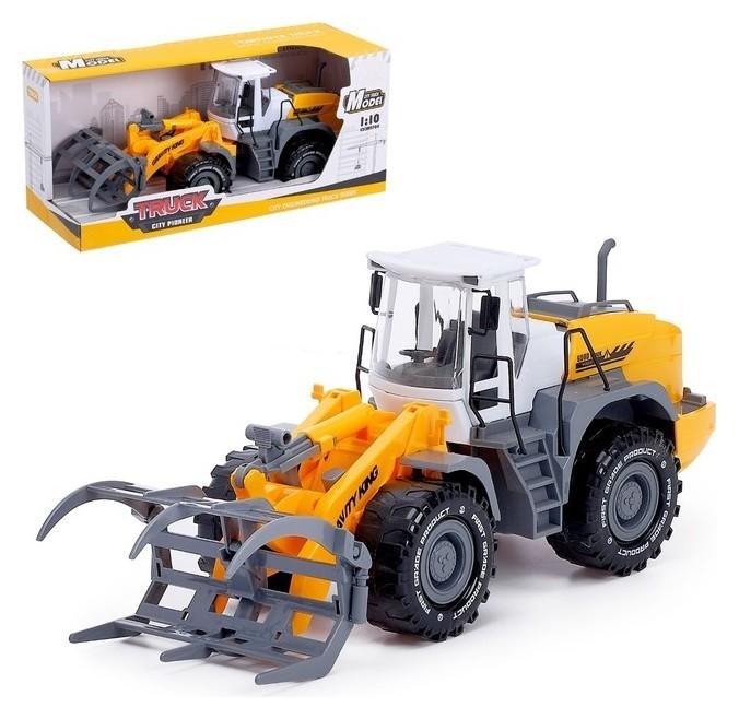 Трактор инерционный «Погрузчик», с вилами NNB
