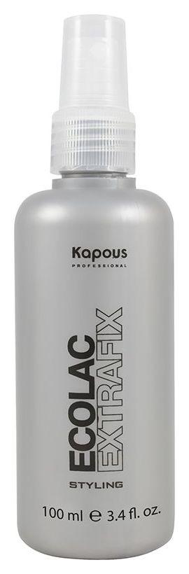 """Жидкий лак для волос """"Ecolac Extrafix""""  Kapous Professional"""
