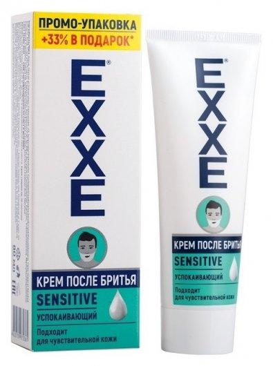 Крем после бритья Exxe Sensitive для чувствительной кожи, 80 мл  Exxe