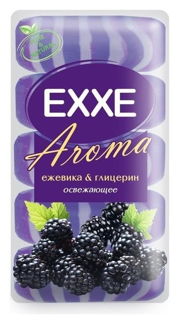 Крем-мыло для рук Ежевика и глицерин, 5 шт  Exxe
