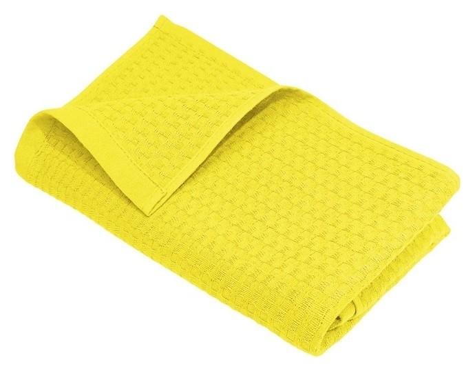 Полотенце вафельное деметра Р 115 50х80 см, лимон, хлопок 100%, 220г/м2  Счастье, когда он и она в удовольствие...
