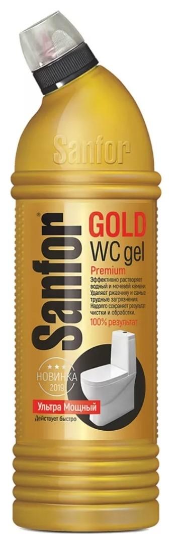 Средство санитарно-гигиеническое для сантехники Gold ультра мощный  Sanfor