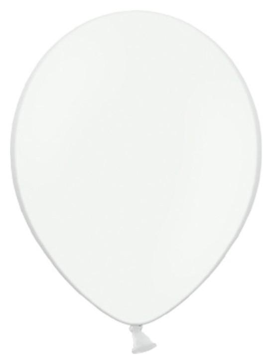 """Шар латексный 10"""", пастель, набор 100 шт., цвет белый  Дон Баллон"""