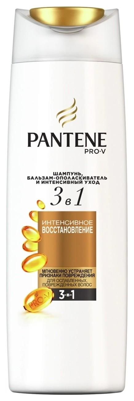 Шампунь Pro-V 3в1 для ослабленных и поврежденных волос   Pantene