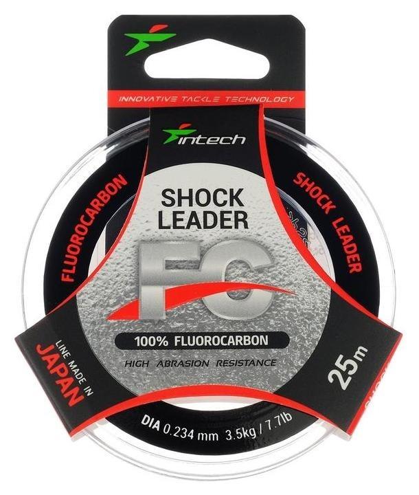 Леска Intech флюорокарбон 0,234 мм, 25 м  Intech