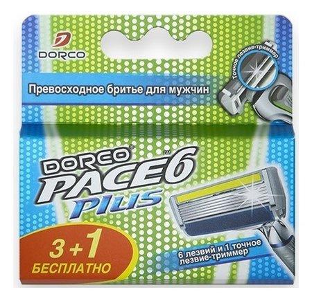 Кассеты для бритья с триммером  Dorco
