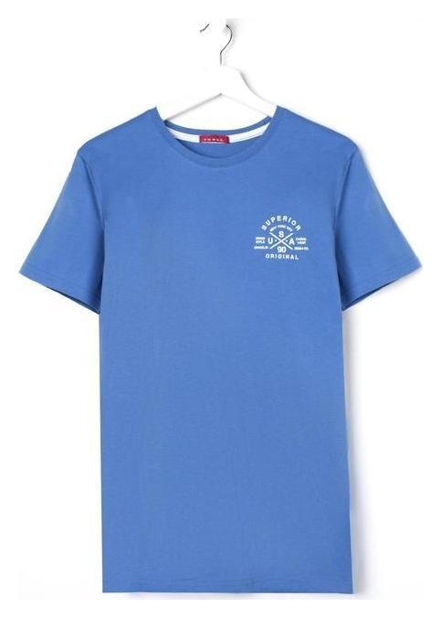 Футболка мужская, цвет синий, размер 58 Jewel style