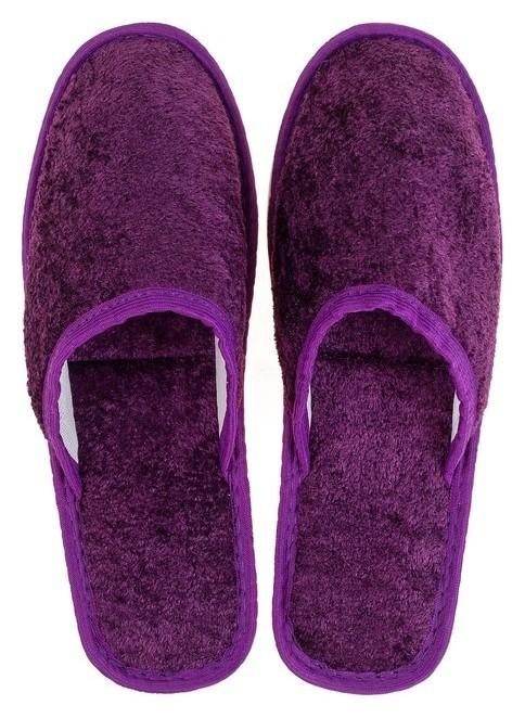 Тапочки женские TAP Moda арт. 106, фиолетовый, размер 36/37  Sluban