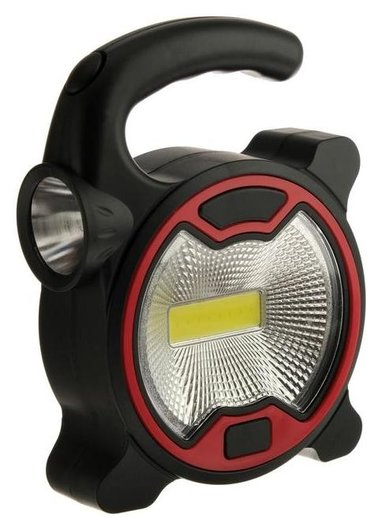 Прожектор светодиодный автономный Ritter, 5 Вт Cob+1 Вт Led, 3xaa, 300 Лм + 80 Лм, Ip23  Ritter