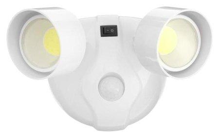 Светильник светодиодный с датчиком движения Düwi Autonoma Led, 2х3 Вт Cob, 4хаа, Ip65  Duwi