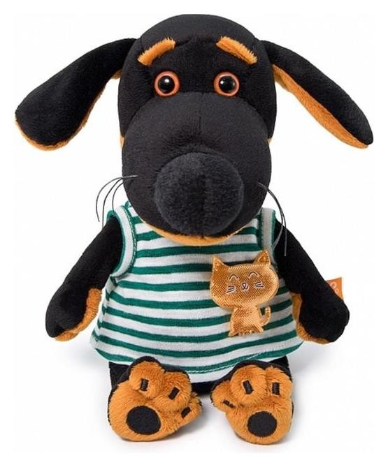 Мягкая игрушка «Ваксон Baby в футболке с кошечкой», 19 см  Басик и Ко