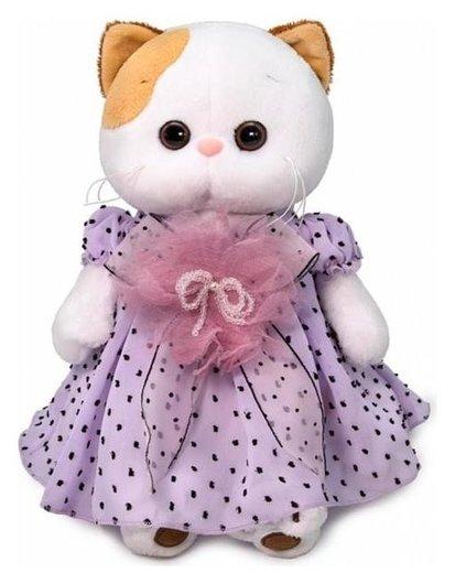 Мягкая игрушка «Ли-ли в нежно-сиреневом платье», 27 см  Басик и Ко
