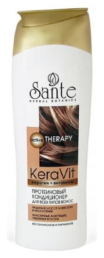 Протеиновый кондиционер для всех типов волос  Sante Naturkosmetik