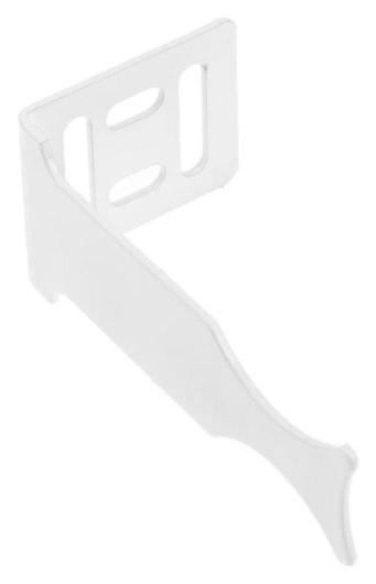 Кронштейн для радиатора Masterprof, угловой, универсальный, белый  MasterProf
