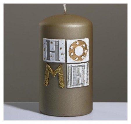 Свеча - цилиндр Sensitive Home 8×15 см  Poland Trend Decor Candle