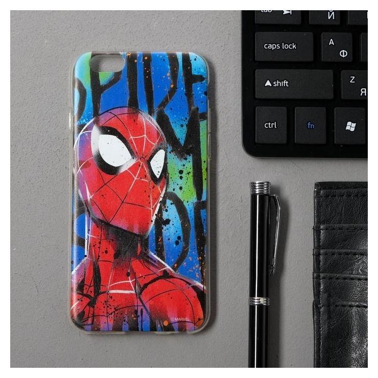 Чехол Red Line Ibox Art Iphone 6/6s, силиконовый, Marvel №8 iBox