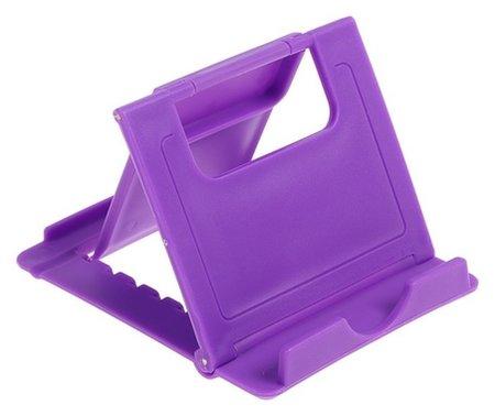 Подставка для телефона Luazon, складная, регулируемая высота, фиолетовая LuazON