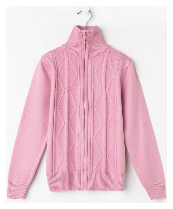 Джемпер для девочки, цвет розовый, рост 146 см Foxx