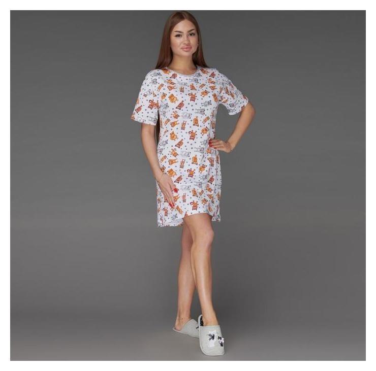 Сорочка женская, цвет белый, размер 44 Неженка