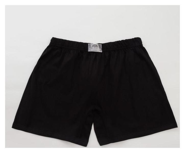 Трусы мужские шорты, цвет чёрный, размер 48-50  Ata sport