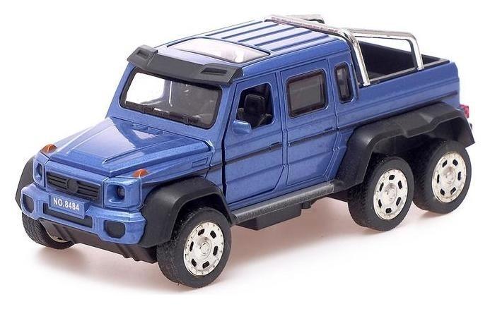 Машина металлическая «Внедорожник», открываются двери, капот, багажник, инерция Borofone