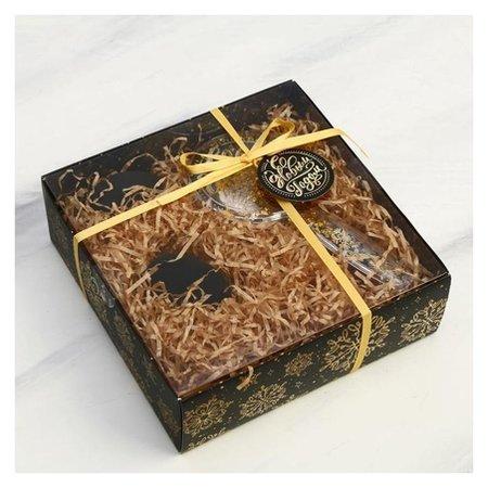 Подарочный набор «Искры золота» 19 х 6,5 х 19 см  Арт узор